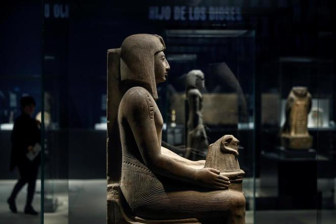 Фараоны из Британского музея прибыли в Мадрид