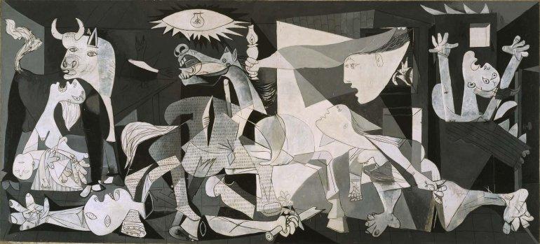 Сострадание и ужас в творчестве Пикассо. Путь к Гернике